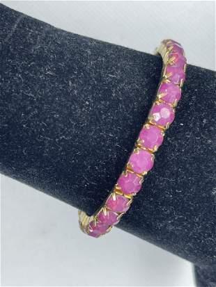Pink Stackable Bracelet