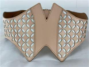 Pink ALAIA Belt