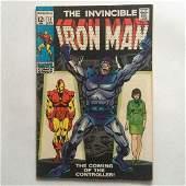 THE INVINCIBLE IRONMAN #12 1969 comic book Marvel
