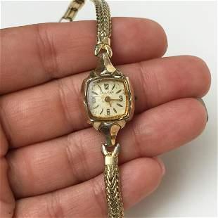 BULOVA Vintage 10KT Gold Filled watch X170096