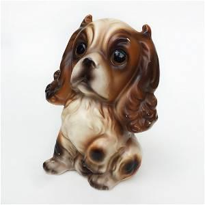 "CHOICE IMPORTS: Vintage ceramic Puppy Dog figurine 5"""