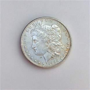 US 1896-P MORGAN silver one $1 dollar coin