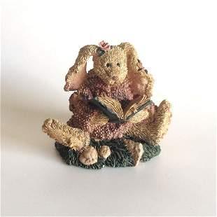 Vintage Boyd Bears and Friends Rabbit book figurine