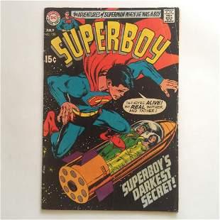 SUPERBOY #158 1969 comic book DC