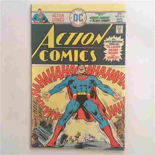 ACTION COMICS #450 1975 comic book DC