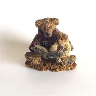 Vintage Boyd Bears and Friends Ted and Teddy figurine