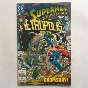 SUPERMAN in ACTION COMICS #684 48 1992 comic book DC