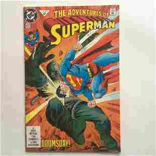 THE ADVENTURES OF SUPERMAN #497 47 1992 comic book DC