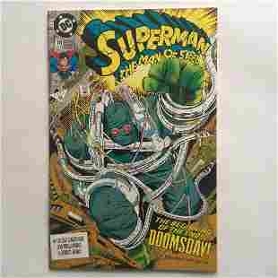 SUPERMAN THE MAN OF STEEL #18 45 1992 comic book DC