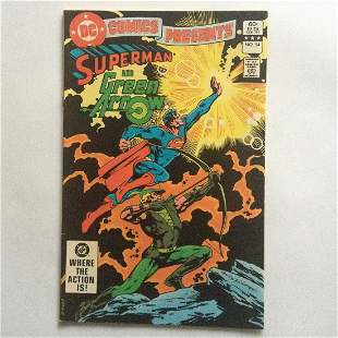 SUPERMAN and GREEN ARROW #54 1983 comic book DC