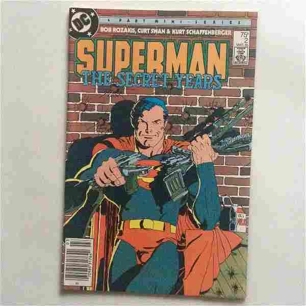SUPERMAN THE SECRET YEARS #2 1985 comic book DC