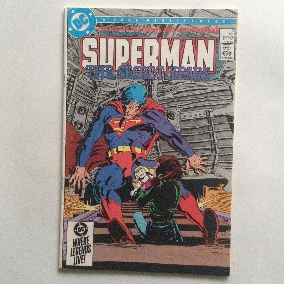 SUPERMAN THE SECRET YEARS #3 1985 comic book DC