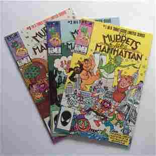THE MUPPETS TAKE MANHATTEN #1 2 3 1984 Star comics