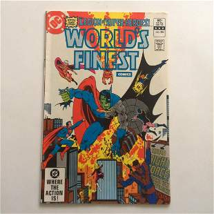 WORLD'S FINEST #284 1982 Bronze Age comic book DC