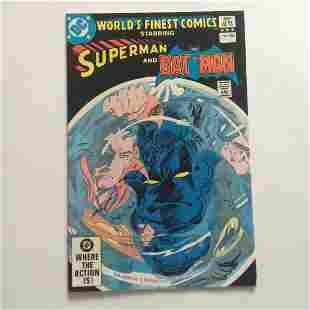 WORLD'S FINEST #288 1982 Bronze Age comic book DC