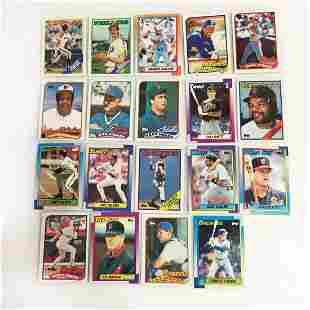 19 TOPPS 1988 1989 1990 baseball cards