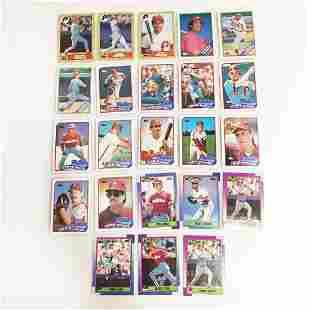 23 TOPPS 1987-1990 Phillies baseball cards