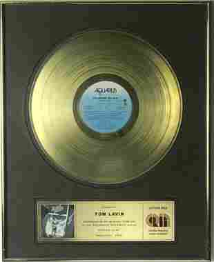 April Wine Power Play CRIA Gold Album Award