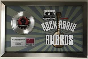 Avenged Sevenfold Rock Radio Award to A7X