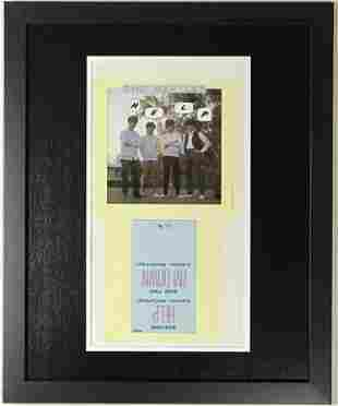 "Beatles ""Help"" 45 Sleeve Art Proof"