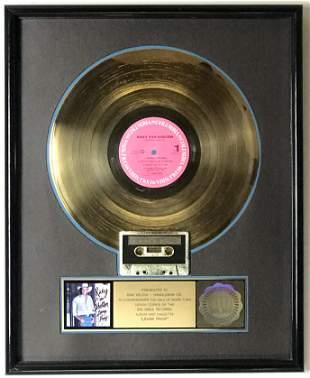 Ricky Van Shelton Loving Proof RIAA Gold Album Award