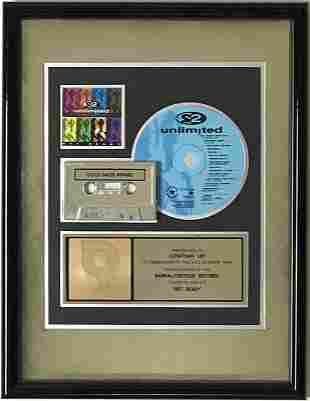 2 Unlimited Get Ready! RIAA Gold Album Award