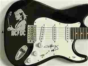 AC/DC Guitar Signed by Angus Young w/PSA COA