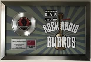 Avenged Sevenfold Rock Radio Award to A7X