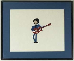 Beatles Original 1965-69 Cartoon Series Cel - G