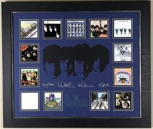 Beatles Album Montage Collectible - Large