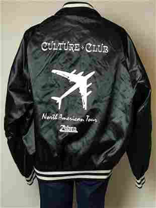 Culture Club Early 1980s Tour Jacket - RARE