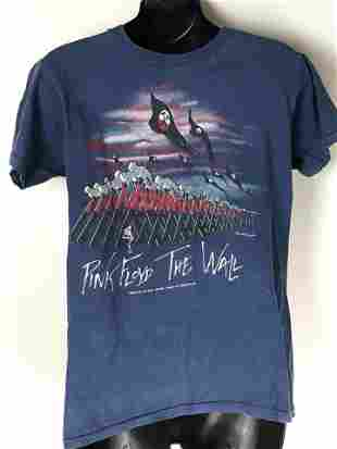 Pink Floyd The Wall Vintage 1981 T-shirt