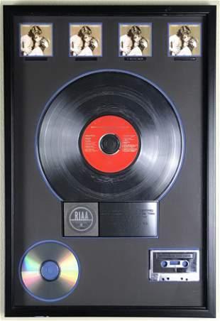 Streisand and Kristofferson A Star Is Born 4x Platinum