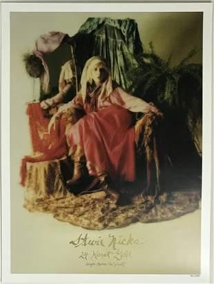 "Stevie Nicks ""24K Gold"" Ltd Edition poster 134/2000"