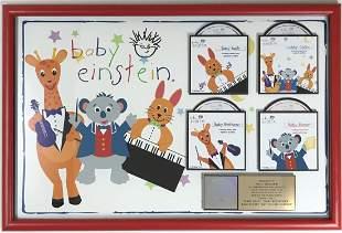 Baby Einstein Series Disney RIAA Gold Album Award