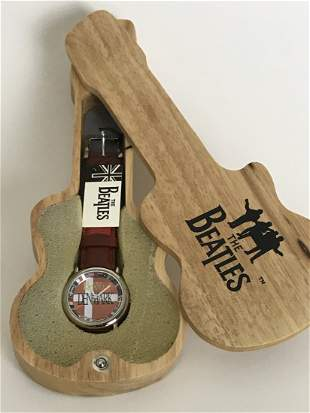 """Beatles Official Vintage """"Denmark 1964"""" Watch - New"""