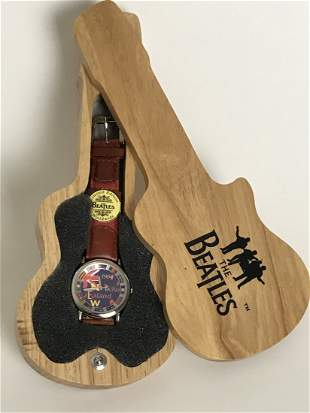 """Beatles Official Vintage """"New Zealand 1964"""" Watch-New"""