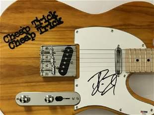 Cheap Trick Signed Robin Zander Guitar with PSA COA