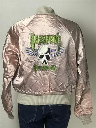 Nazareth Vintage 1978-79 No Mean City Tour Jacket