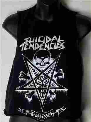 Suicidal Tendencies Vintage Crop Tank/T-shirt