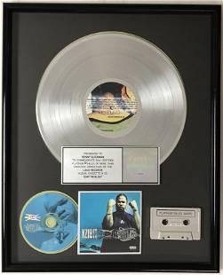 Xzibit Restless RIAA Platinum Album Award