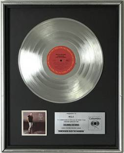 Willie Nelson Somewhere Over The Rainbow label award