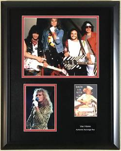 Van Halen David Lee Roth Collage