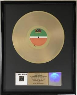 Tori Amos Little Earthquakes RIAA Gold Award