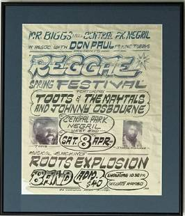 Toots and the Maytals Original 1989 Jamaica Reggae Fest
