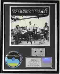 Tony Toni Tone House Of Music RIAA Platinum Album