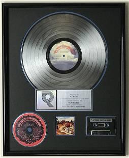 Tom Petty Into The Great Wide Open RIAA Gold Album