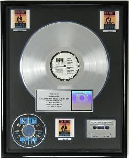 Tom Petty Full Moon Fever RIAA Platinum Album Award