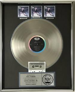 Tina Turner Private Dancer RIAA 3x Multi-Platinum LP