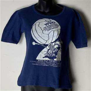 The Who Who Put The Boot In 1976 Vintage T-shirt